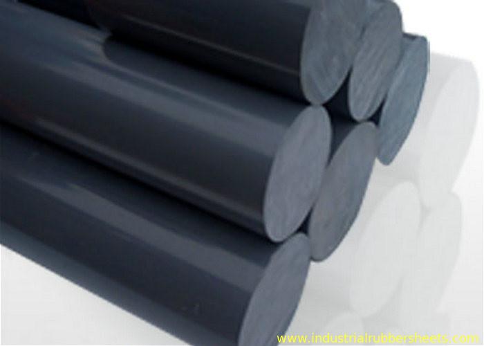 黒は抵抗力がある酸及びアルカリ ナイロン丸棒が付いているプラスチック ポリ塩化ビニール固体棒をリサイクルします