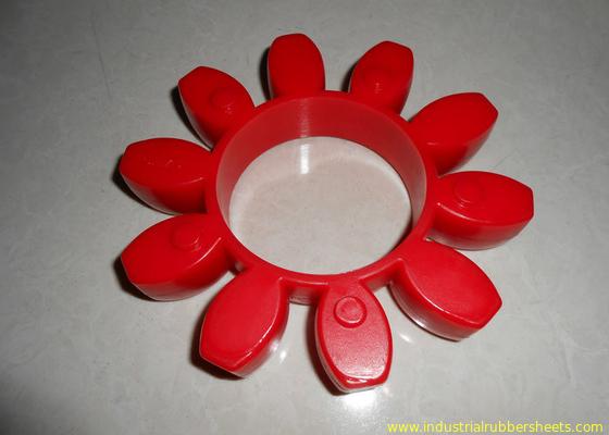 中国 耐久力のある赤いポリウレタン カップリング、98 は GR または PU のカップリングを支えます 代理店