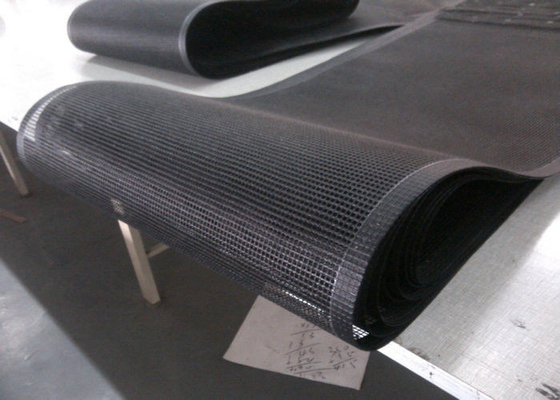 中国 PTFE polyester mesh fabric , PTFE polyester mesh fabric for conveyor belt / griddling cloth, made by PTFE coated 工場